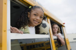 school bus with children, Gilreath auto accidents blog