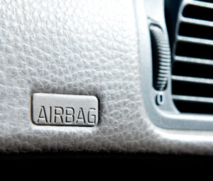 close-up of dashboard airbag: Gilreath & Associates Product Failures Blog