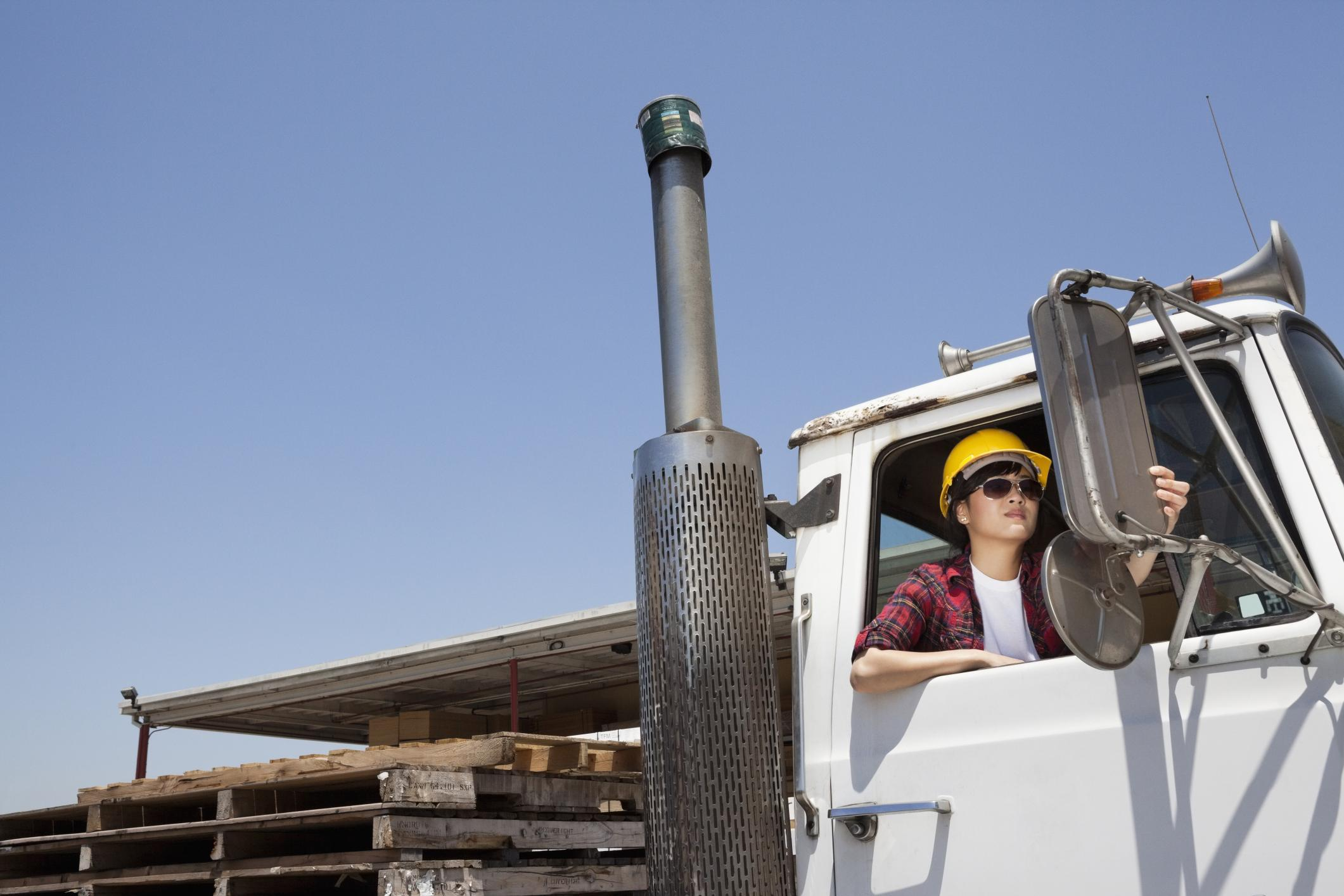 Women making strides proving safer in the male dominated trucking world